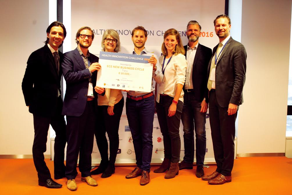 Aenova bij de Health Innovation Challenge in 2016